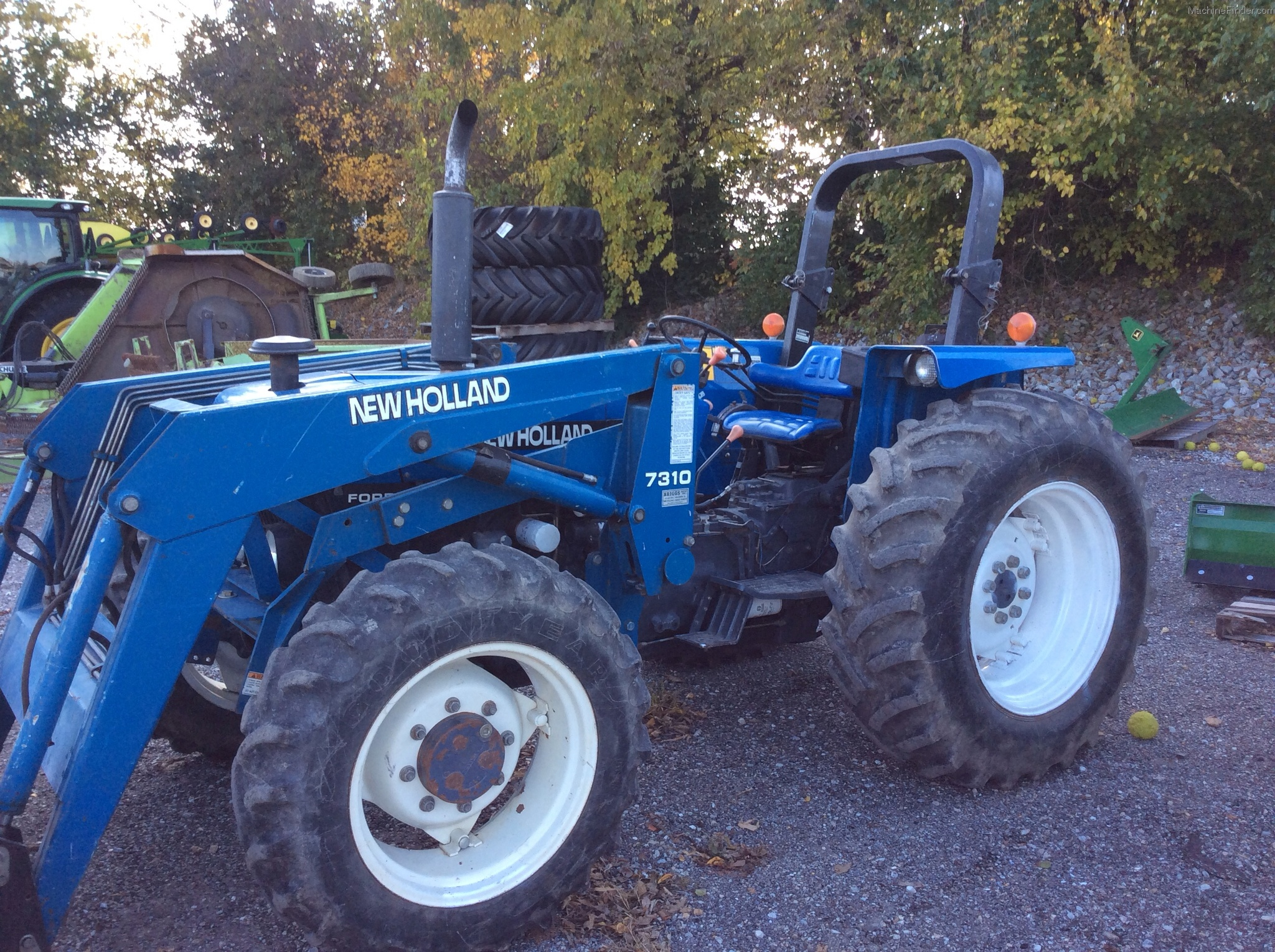 1996 New Holland Tractor : New holland tractors utility hp john