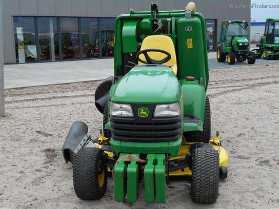 2005 john deere x495 kompakttraktor tractors compact 1. Black Bedroom Furniture Sets. Home Design Ideas