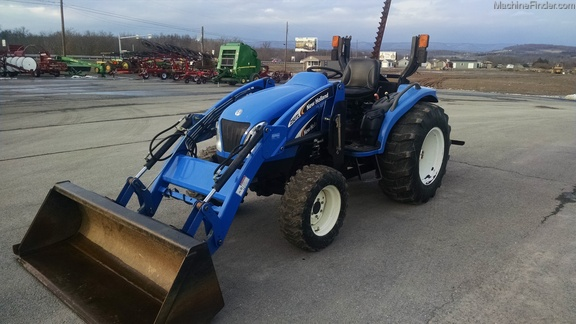 New Holland Compact Utility Tractor : New holland tc da compact utility tractors john