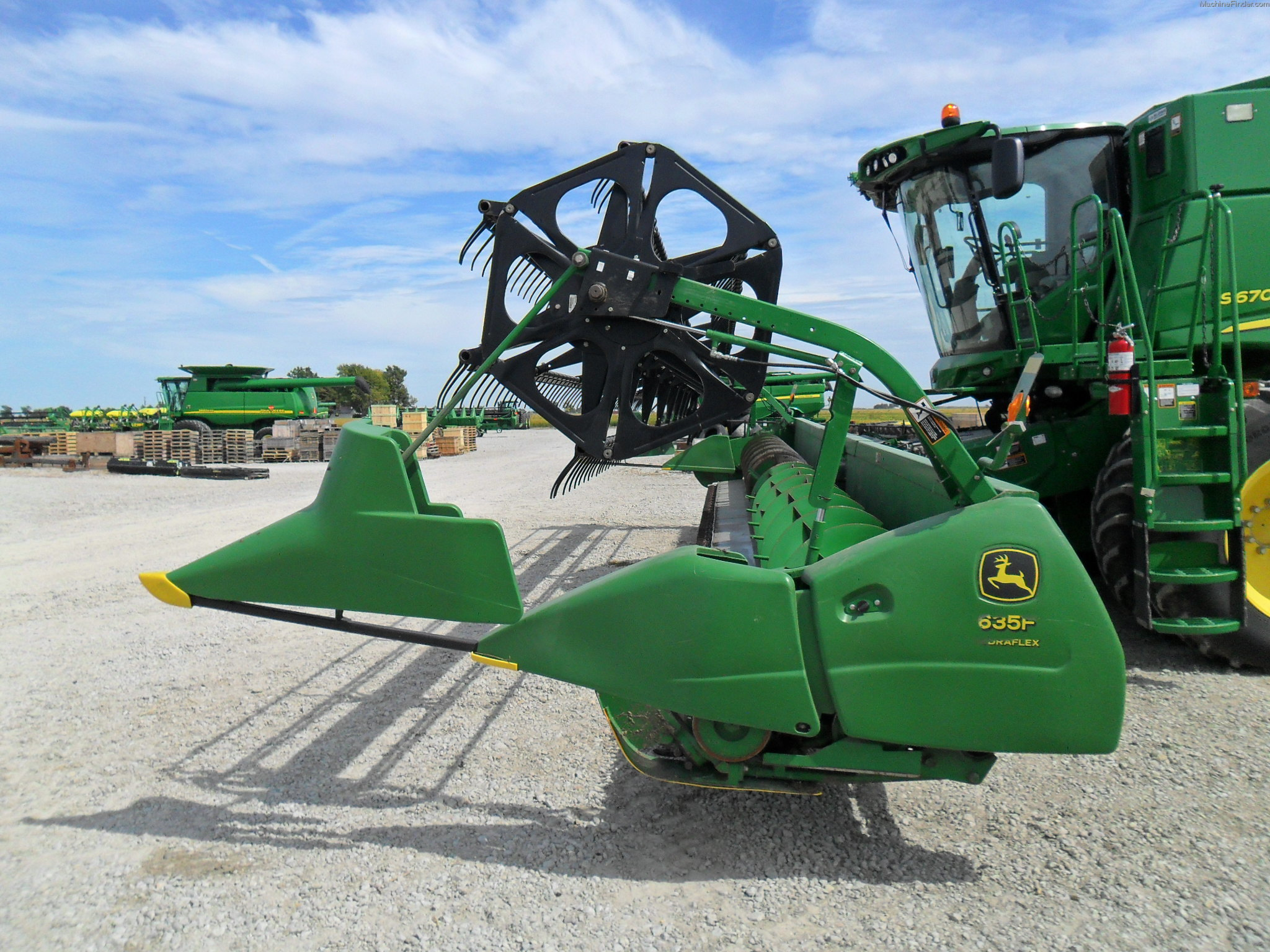 John deere combine single point hookup