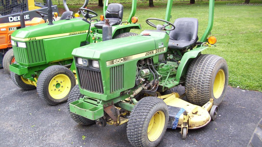 John Deere 650 Tractor Parts : Used farm agricultural equipment john deere machinefinder