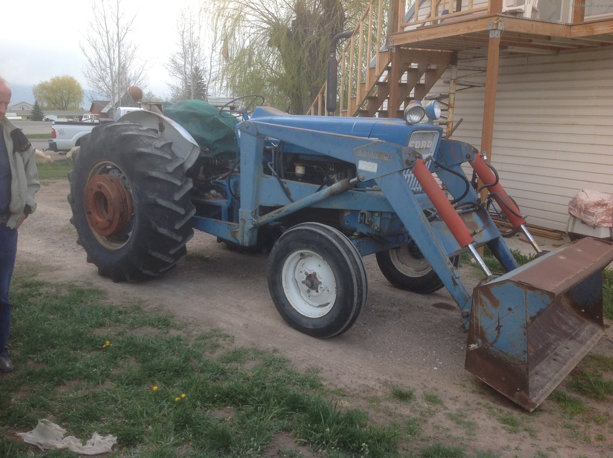 1973 Ford Tractor 5000 Parts : Tweet