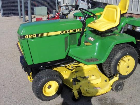 1990 John Deere 420 Lawn Garden And Commercial Mowing John Deere Machinefinder