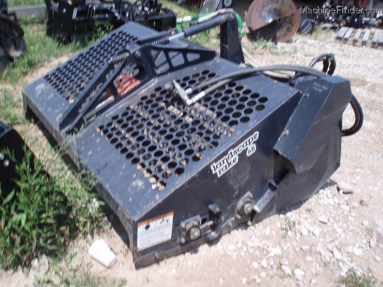 Landscape Rake For Bobcat : Bobcat b rockhound landscape rake avail for rent attachments john