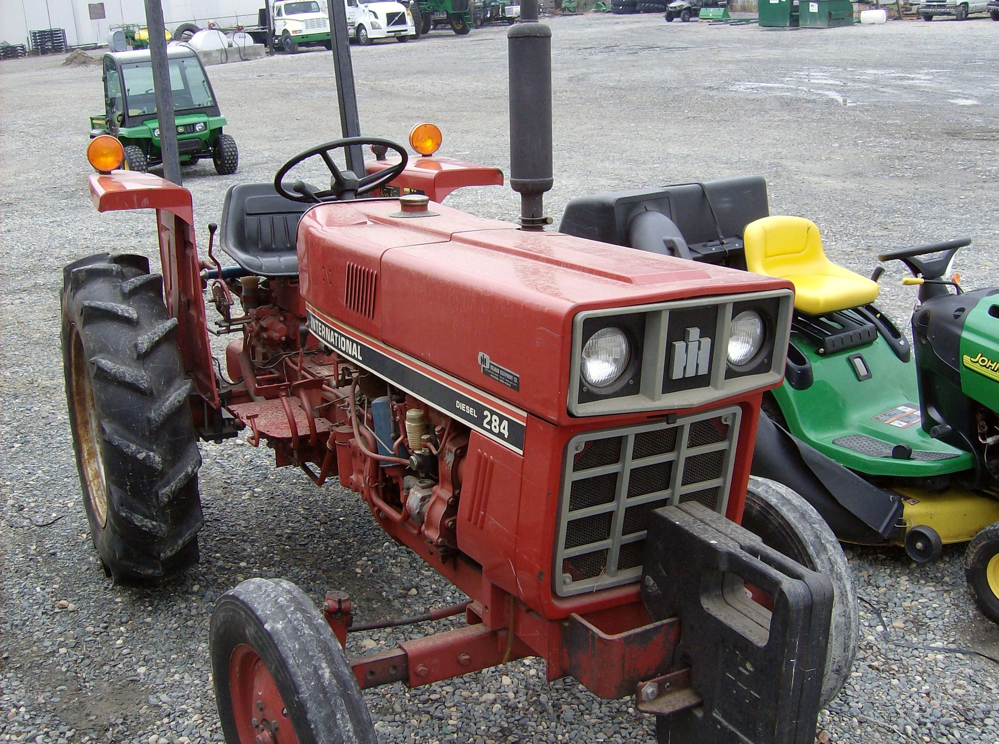 International 284 Tractor Parts : International tractors compact hp john