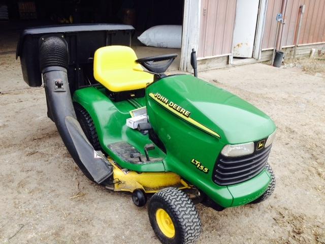 John Deere Lt155 Bagger Diagram : John deere lt lawn garden tractors for sale