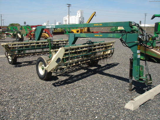 John Deere 851 Hay Rake : Used farm agricultural equipment john deere machinefinder