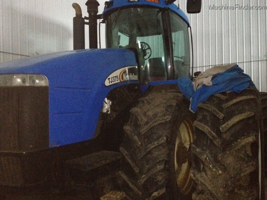 2003 New Holland TJ375HD