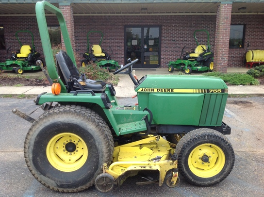 1995 john deere 755 tractors compact 1 40hp john deere machinefinder. Black Bedroom Furniture Sets. Home Design Ideas