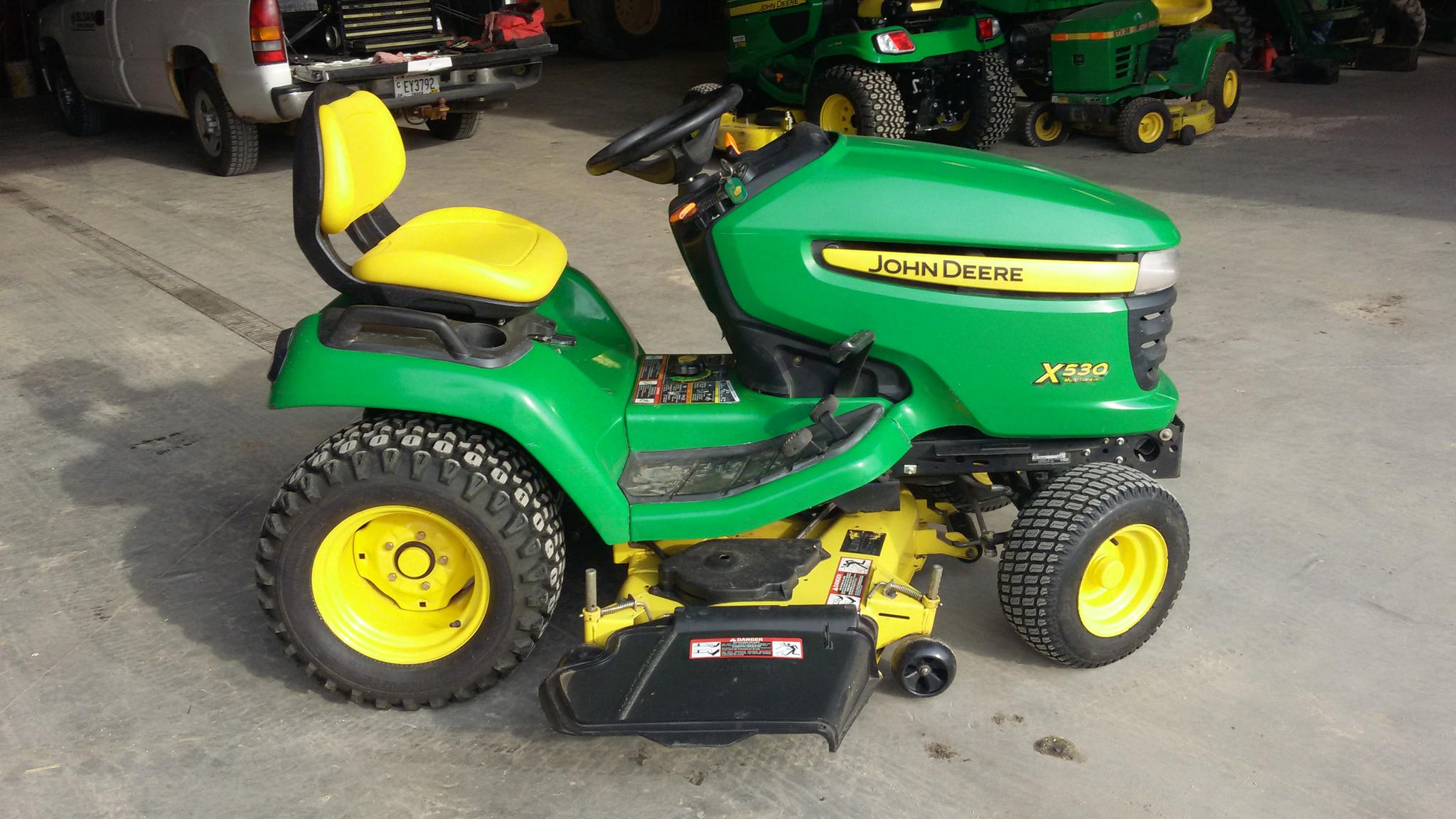 John deere x530 lawn garden tractors for sale 65425 for Garden machinery for sale