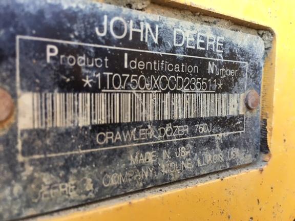 Detail photo of 2013 John Deere 750J from Construction Equipment Guide
