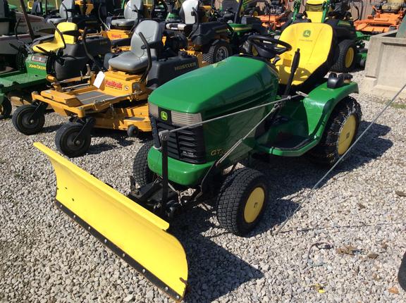 John Deere 245 Excavator Specs : John deere gt lawn garden tractors