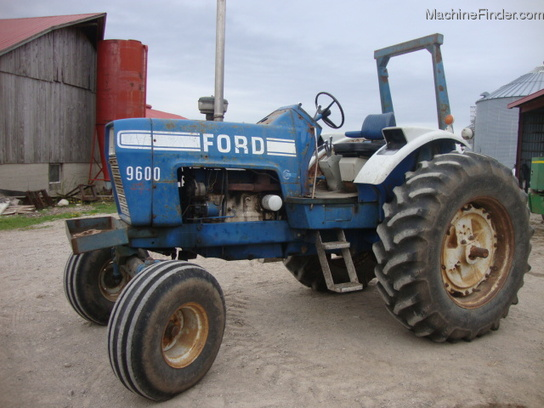 Ford 9600 Tractor : Ford tractors row crop hp john deere