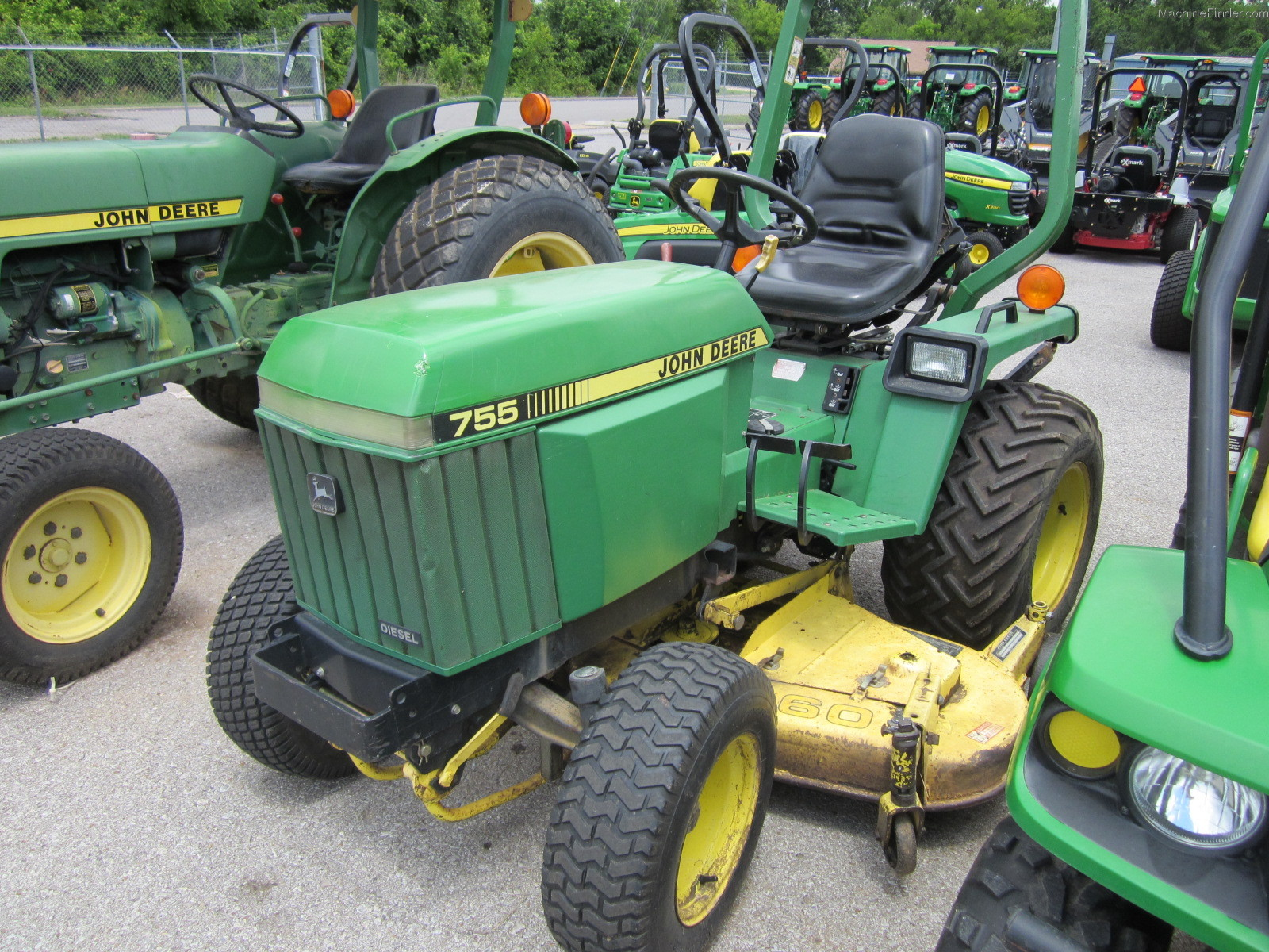1992 john deere 755 tractors compact 1 40hp john. Black Bedroom Furniture Sets. Home Design Ideas
