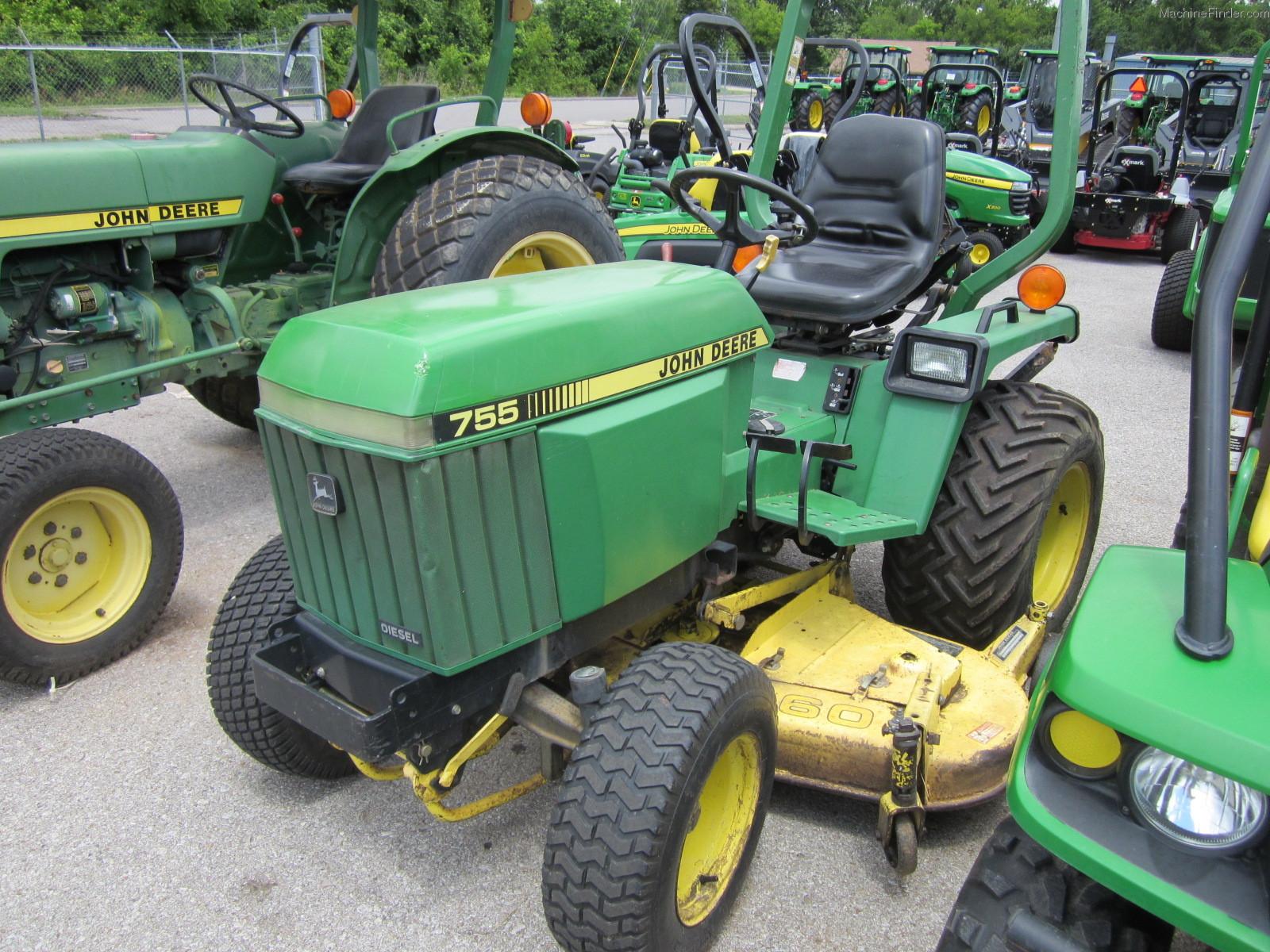 1992 john deere 755 tractors compact 1 40hp john. Black Bedroom Furniture Sets. Home Design Ideas