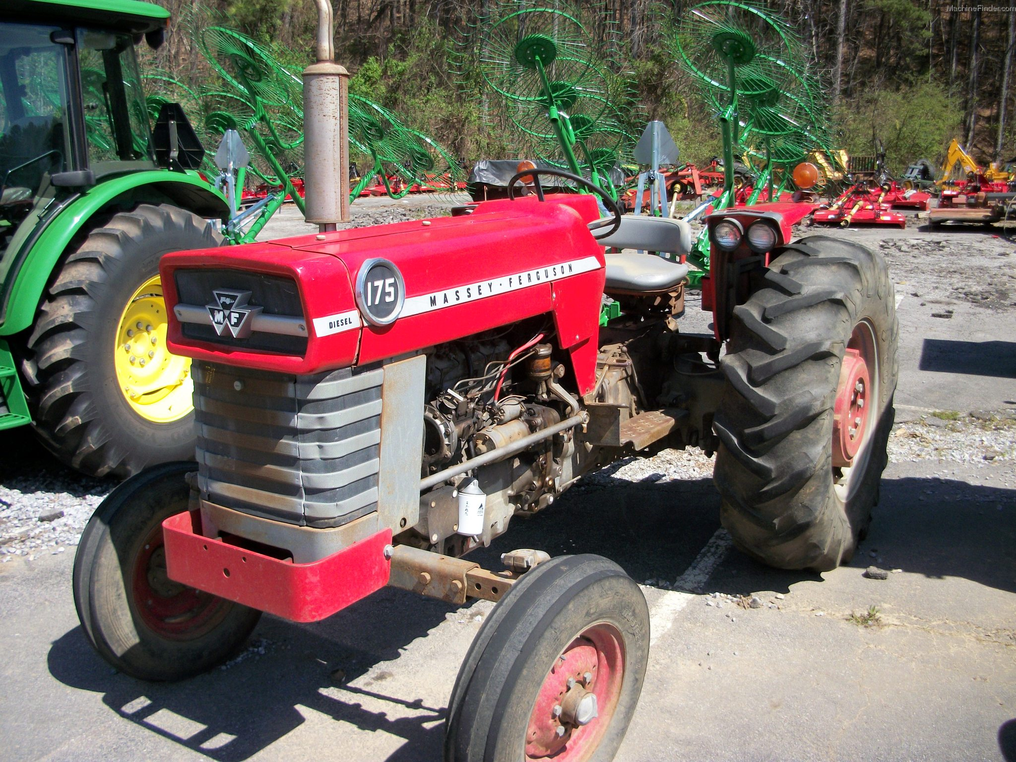 Massive Ferguson 35 Tractor : Pin hugh plummer serial number image search results on