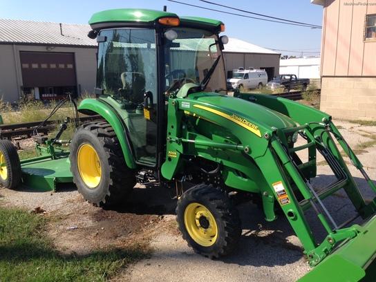 John Deere 3720 Attachments : John deere tractors compact hp