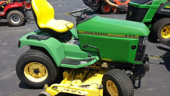John Deere 425 Garden Tractor Garden Ftempo