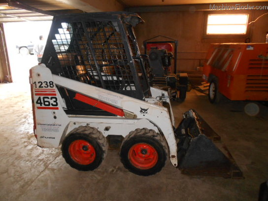 Bobcat 463 LOCATED IN BRIDGE