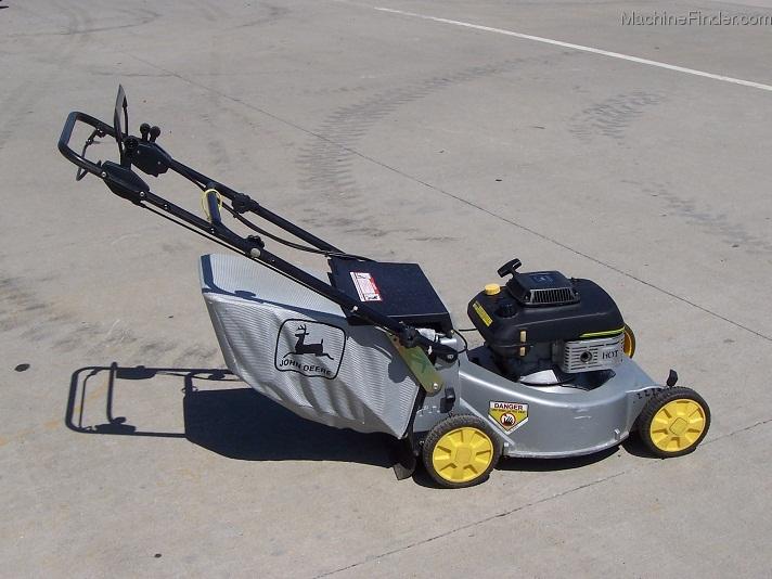1994 John Deere 14sb Silver Walk Behind Mower With Bag