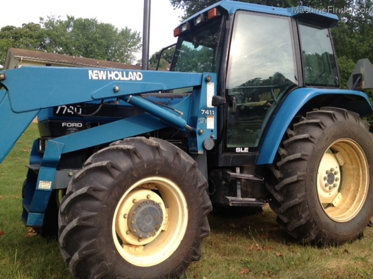1996 New Holland 7740S