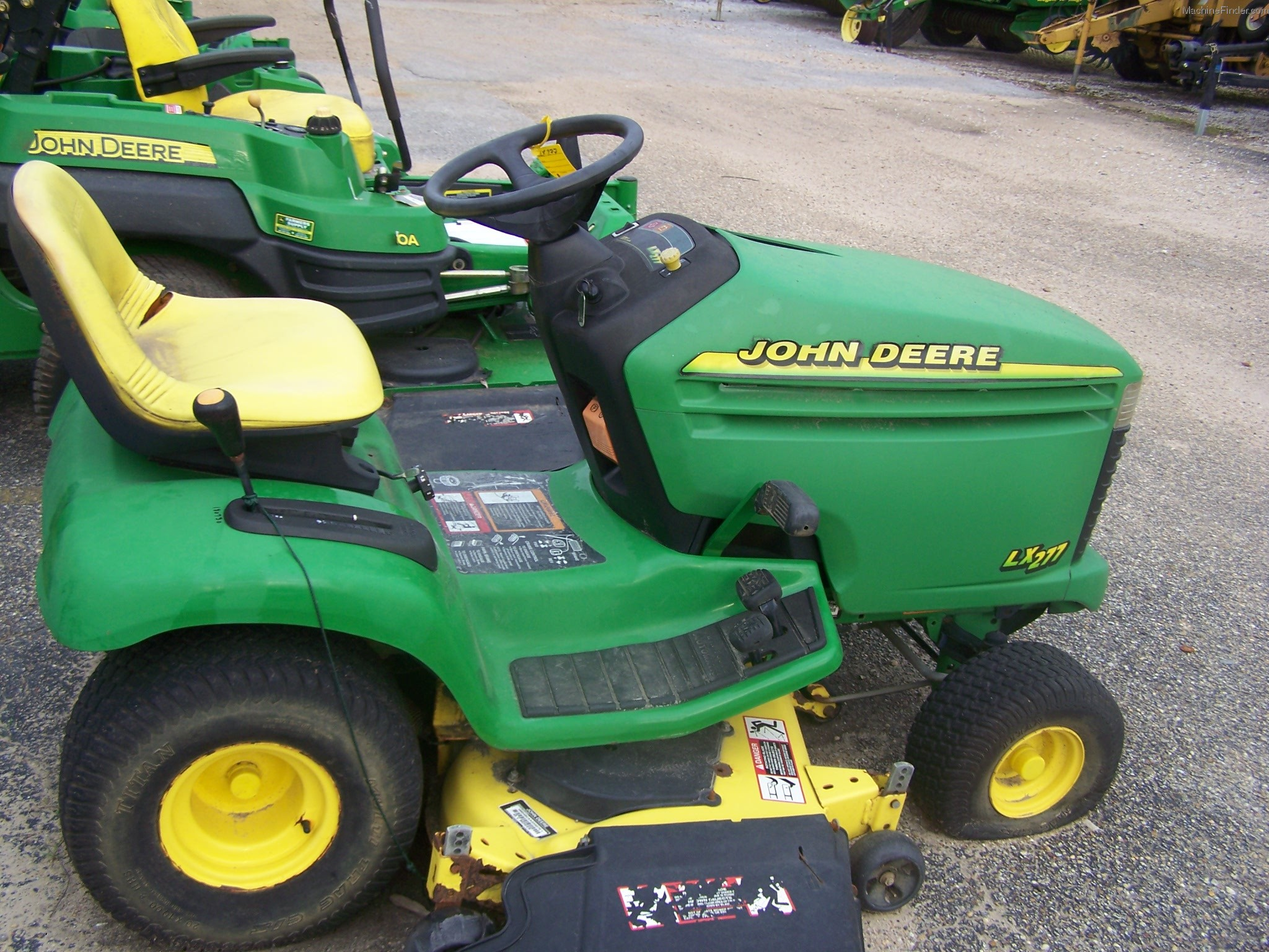 John deere stock options