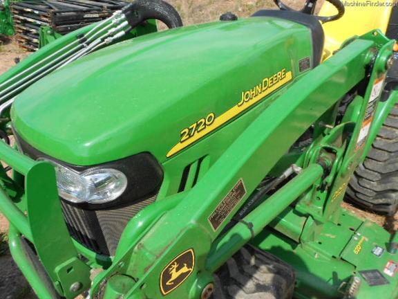 John Deere Gators >> 2011 John Deere 2720 - Compact Utility Tractors - John Deere MachineFinder