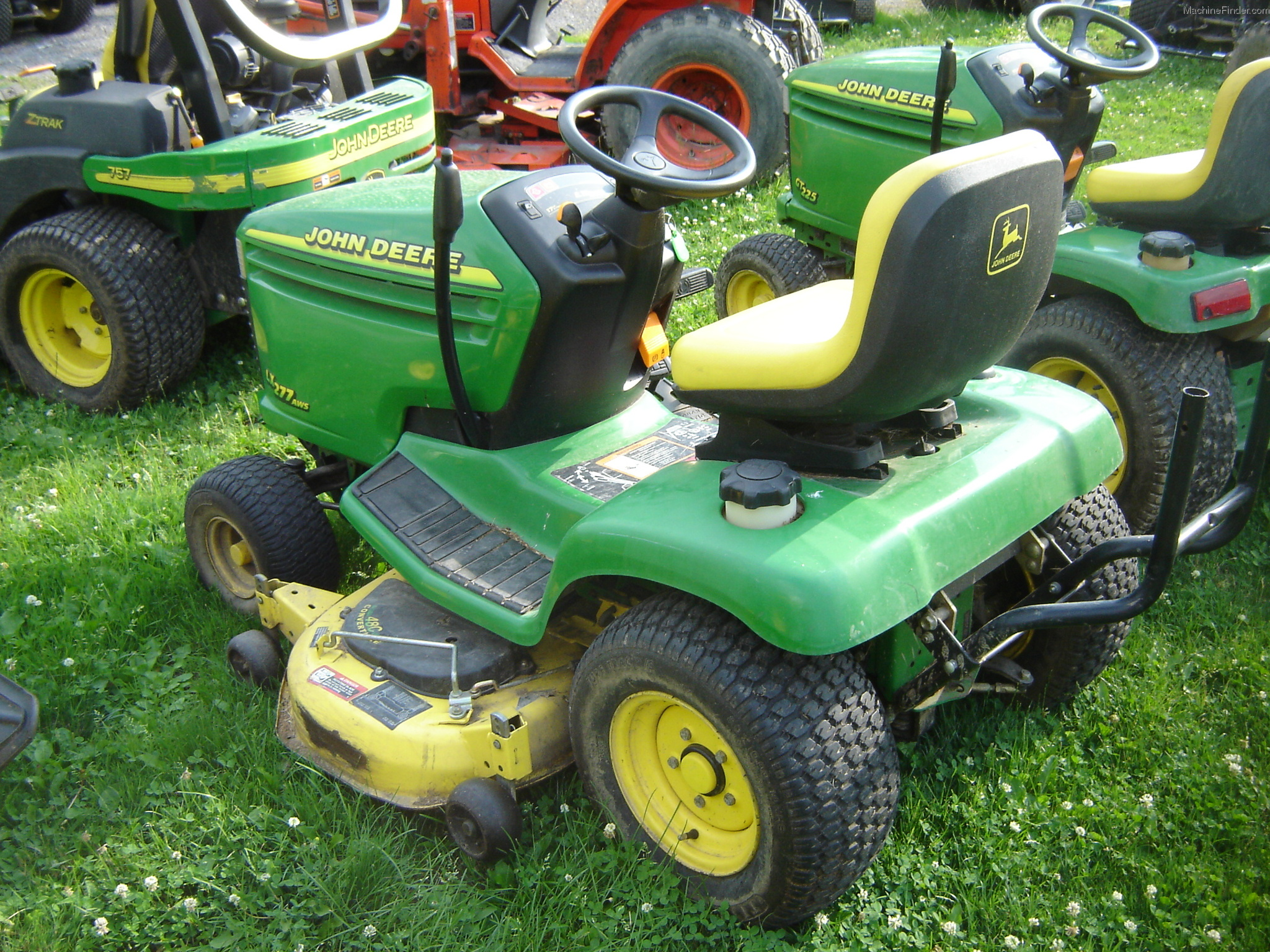 2000 John Deere Lx277 Lawn Amp Garden And Commercial Mowing