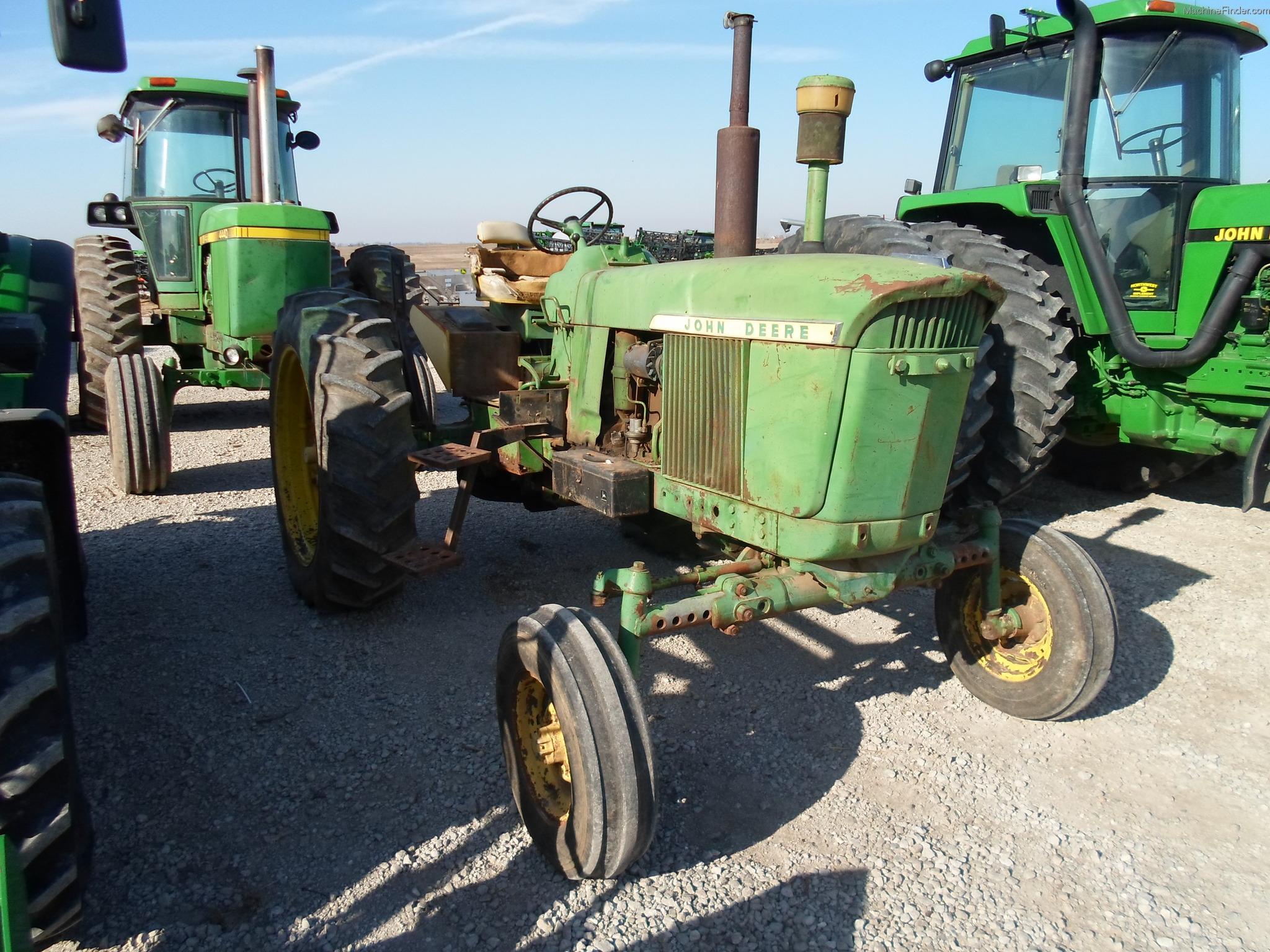 1962 John Deere 3010 Tractors Row Crop 100hp John