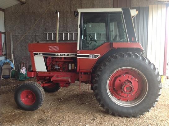 1086 Ih Parts : International harvester tractors row crop hp