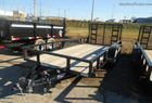 2012 Quality 16 FOOT LANDSCAPE TRAILER WITH REAR RAMPS
