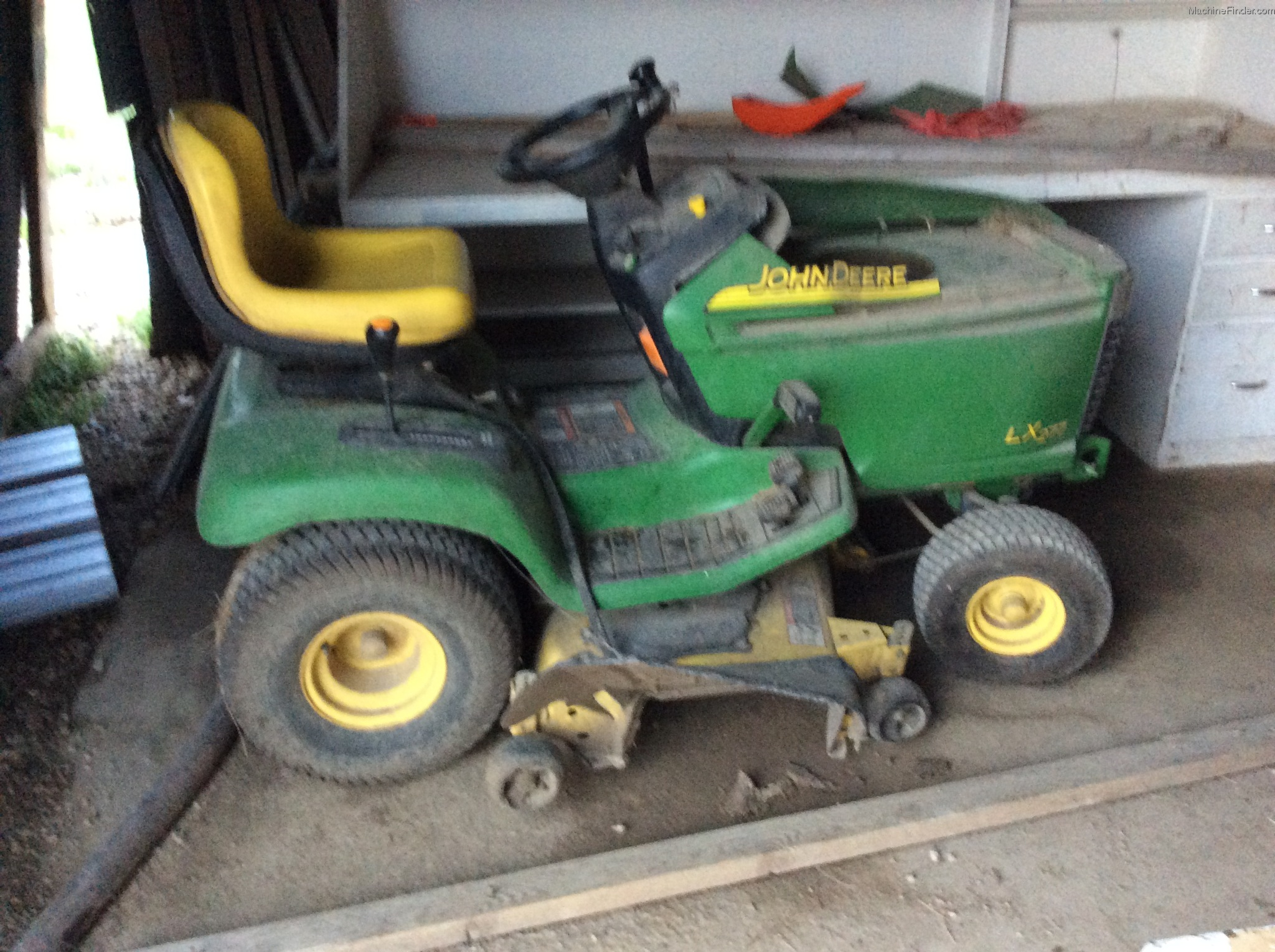 Lawn Tractor Hoods : John deere lx lawn garden and commercial mowing