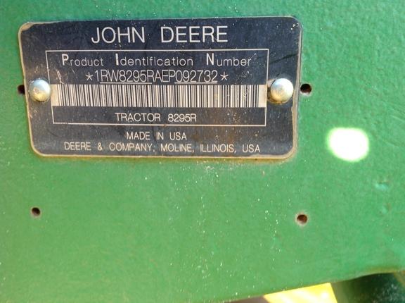 2014 John Deere 8295R