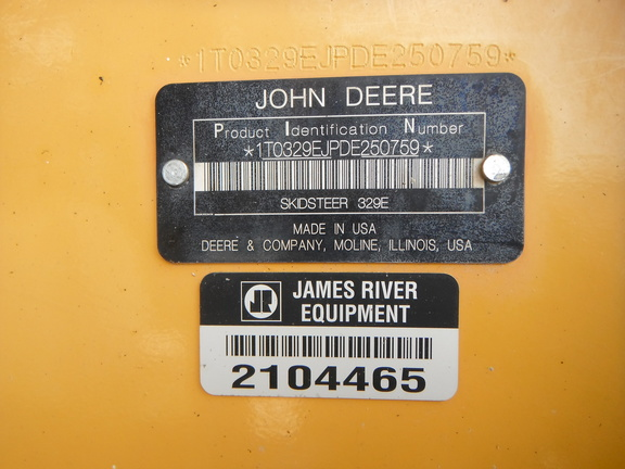 Detail photo of 2013 John Deere 329E from Construction Equipment Guide