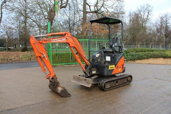 Hitachi ZAXIS17U-2 MINI EXCAVATOR