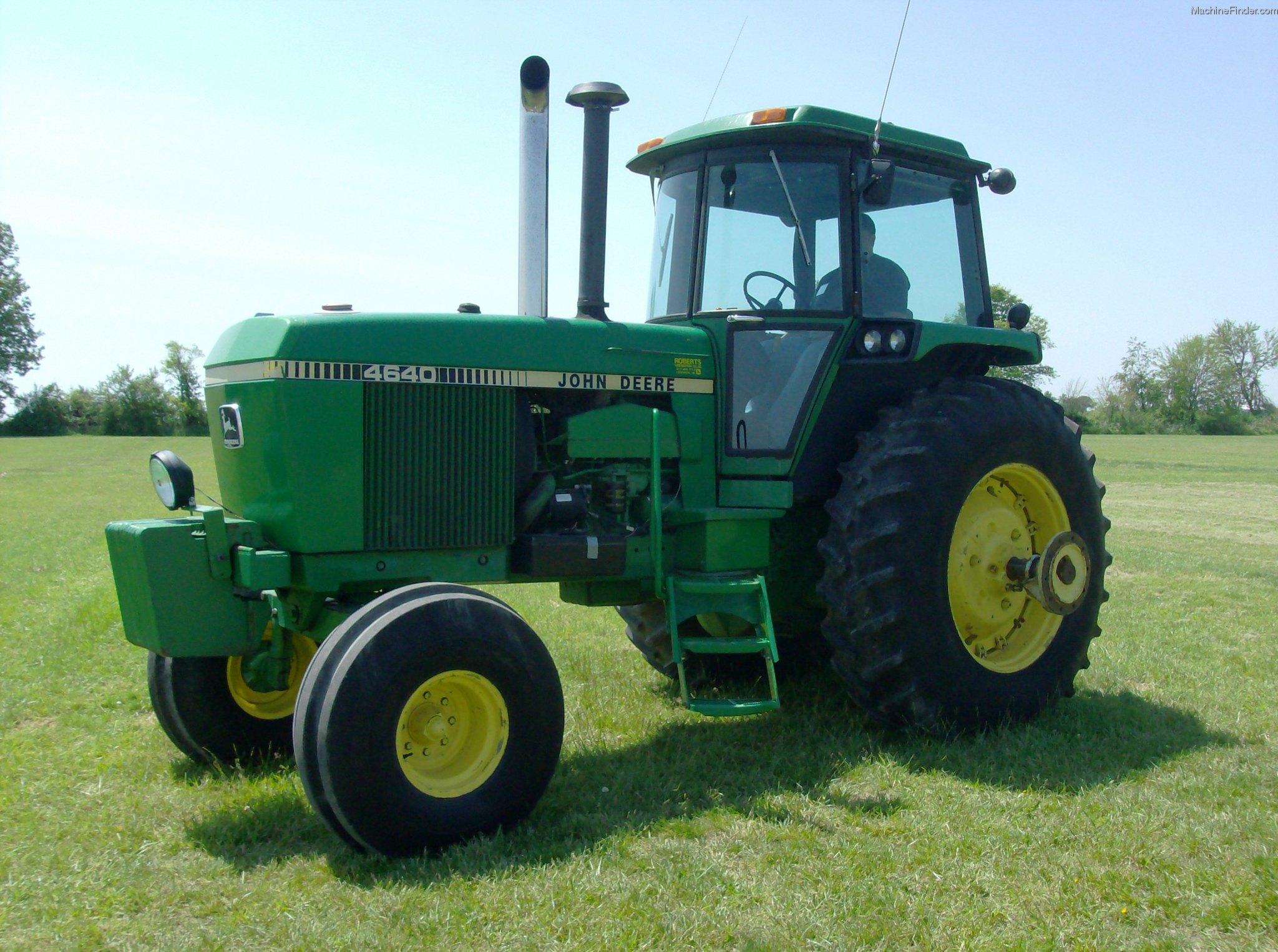 1982 John Deere 4640 Tractors - Row Crop   100hp
