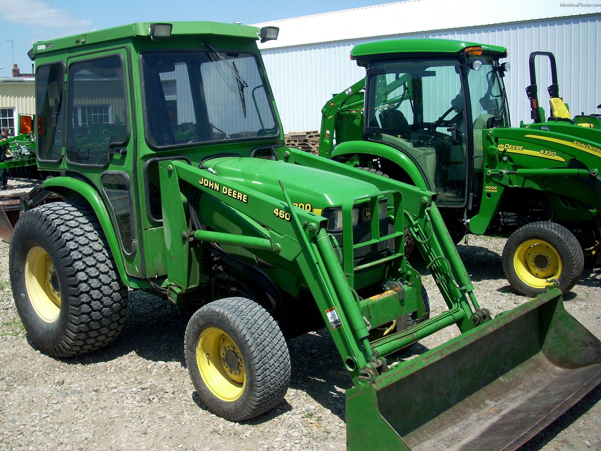 2000 John Deere 4700 Tractors - Utility  40-100hp
