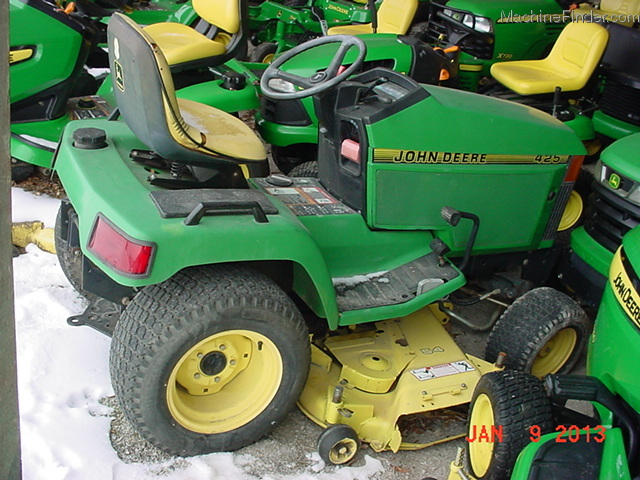 1993 john deere 425 54 lawn garden and commercial mowing john deere machinefinder for Bairs lawn and garden