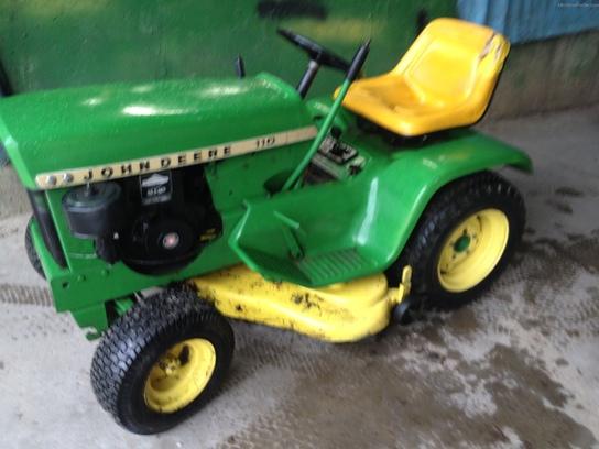 John Deere 110 Parts : John deere lawn garden and commercial mowing