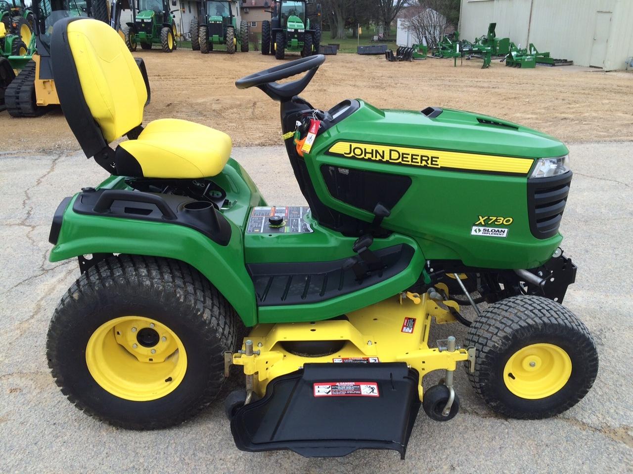 John deere x730 lawn garden tractors for sale 53708 for Lawn garden equipment