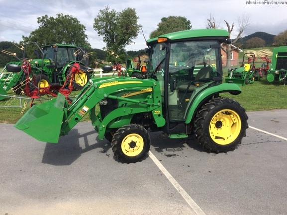 John Deere 3720 Attachments : John deere compact utility tractors