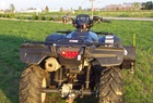 2007 Honda Foreman Rubicon 4WD ATV 500cc's, with winch and snow blade.