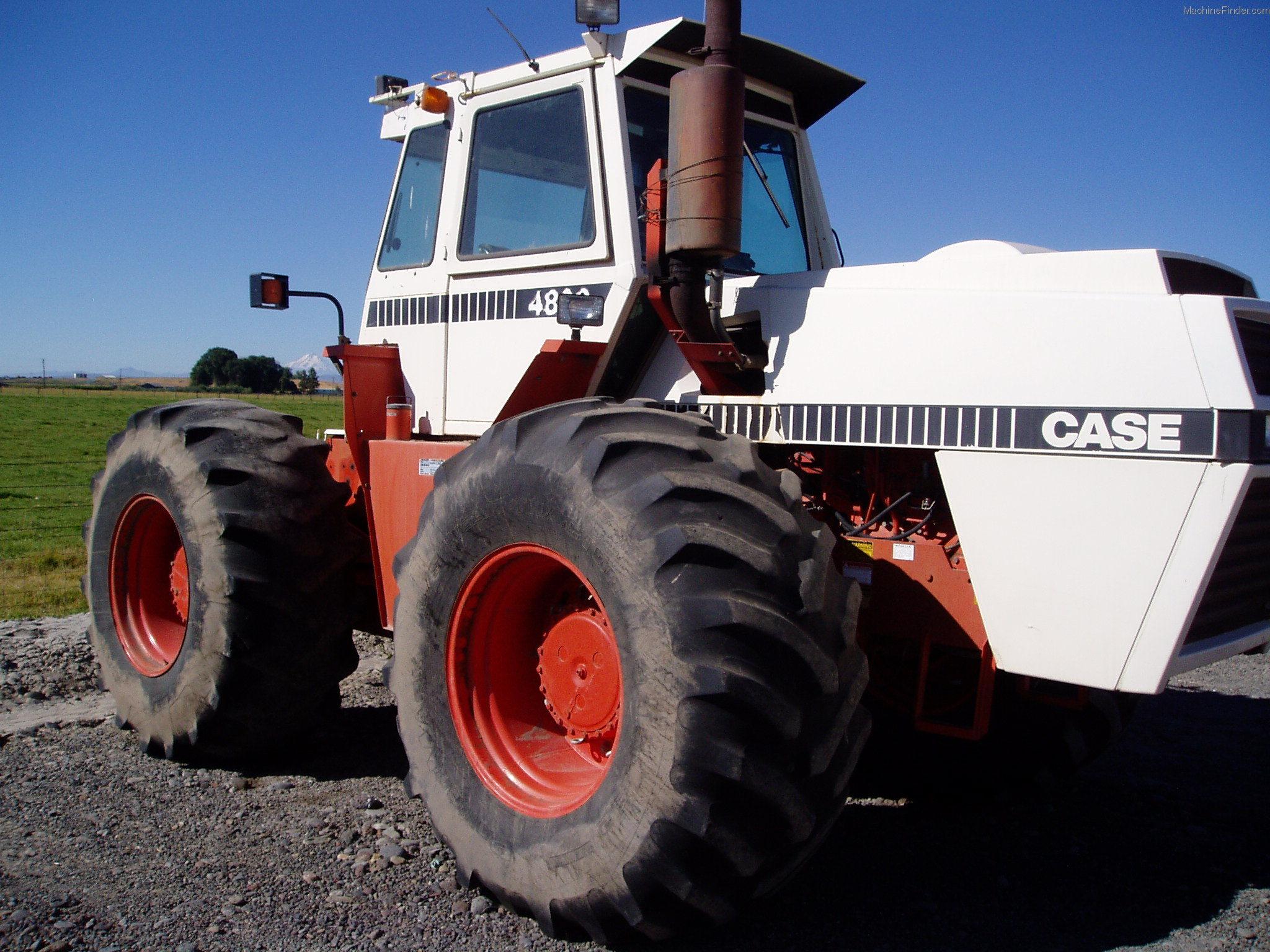 1982 Case Tractors : Case tractors row crop hp john deere