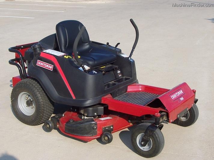 2010 Sears Craftsman Zts7000 Zero Turn Mower 21hp With 42