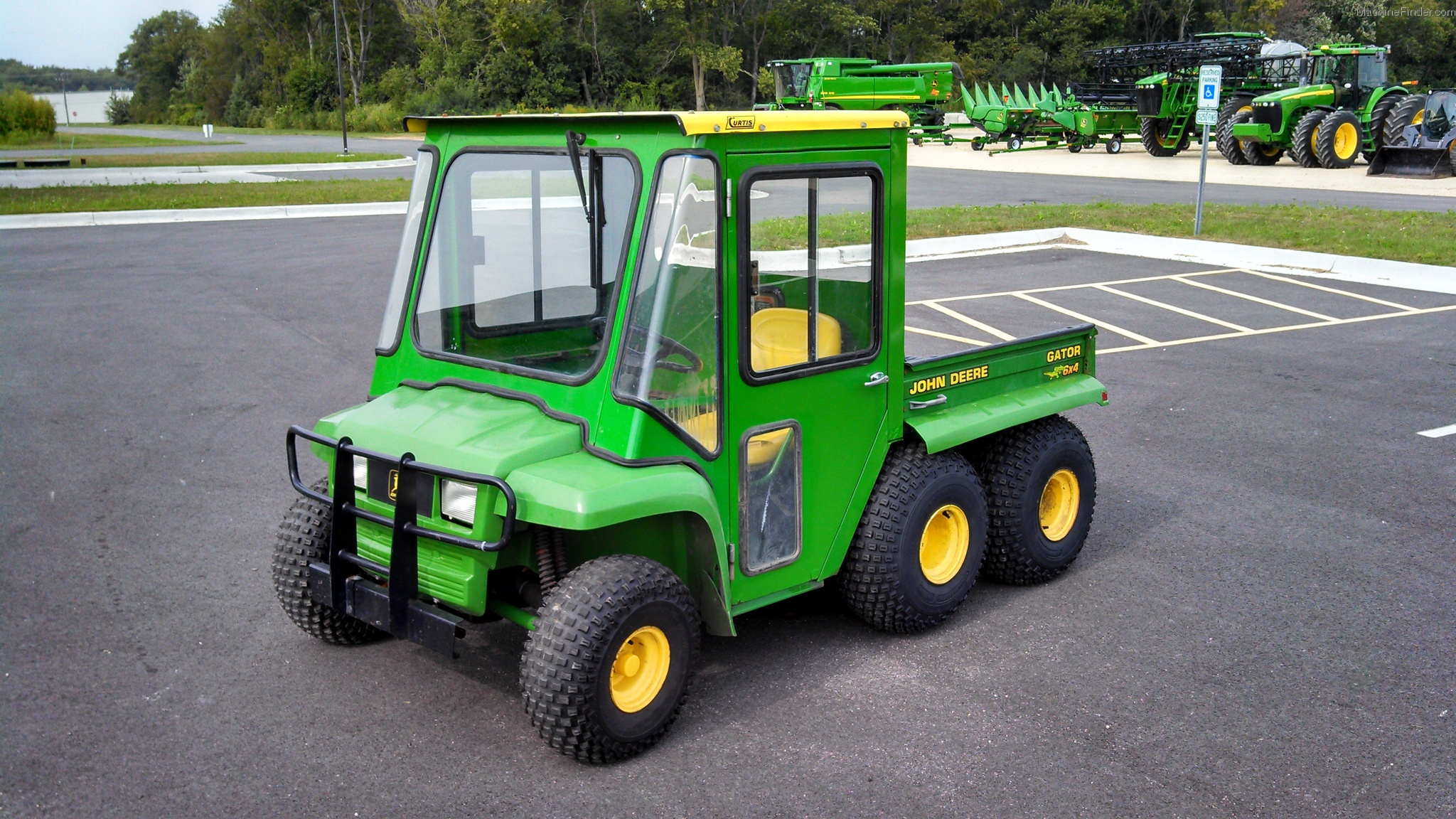1998 john deere gator 6x4 atv 39 s and gators john deere. Black Bedroom Furniture Sets. Home Design Ideas