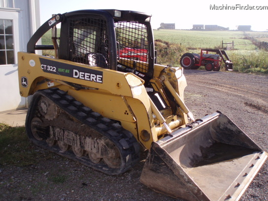 2006 John Deere CT322 TRACK LOADER WITH NEW TRACKS AVAIL FOR RENT