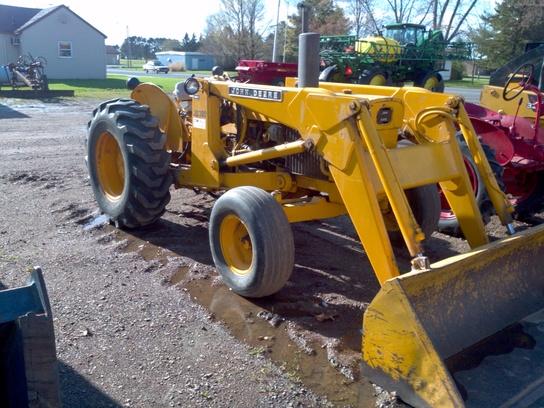 John Deere 300 Backhoe Parts : John deere tractors utility hp