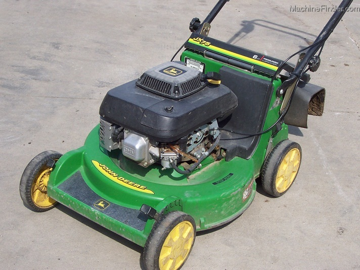 1999 John Deere Jx75 5 Speed Bbc Walk Behind Mower With