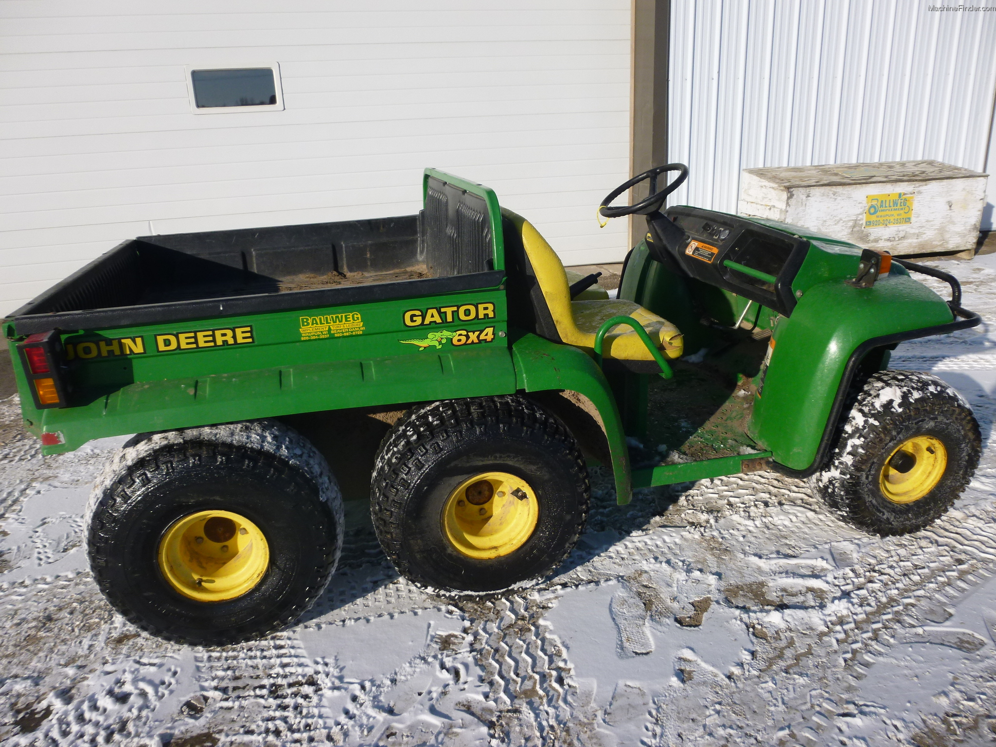 2002 john deere th 6x4 gator atv 39 s and gators john deere. Black Bedroom Furniture Sets. Home Design Ideas