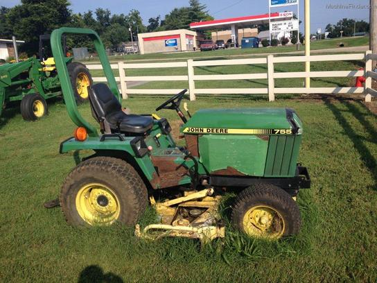 1998 john deere 755 tractors compact 1 40hp john deere machinefinder. Black Bedroom Furniture Sets. Home Design Ideas